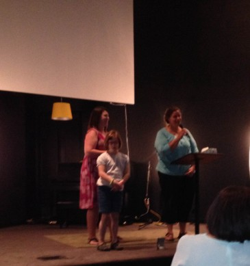 "Little won the ""Queen of Hearts Award"" in honor of how she cares for others.  This mommy is so thankful!"