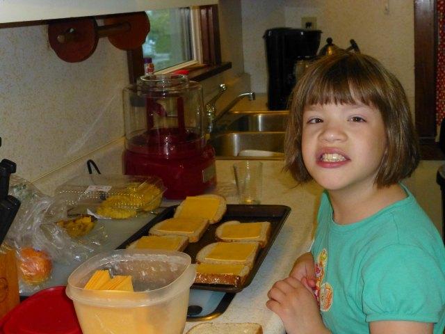 Lily breakfast
