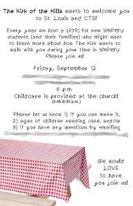 Seminary Invite blog