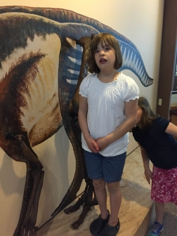 SB2015 -  Dinosaur leg as tall as Lily